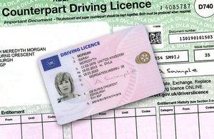 Driving Licence counterpart to be gone by summer