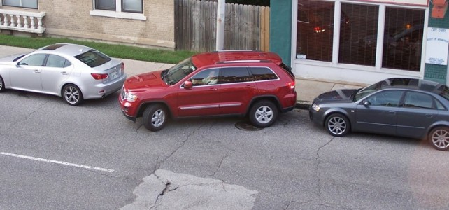 Parallel parking panic for UK drivers