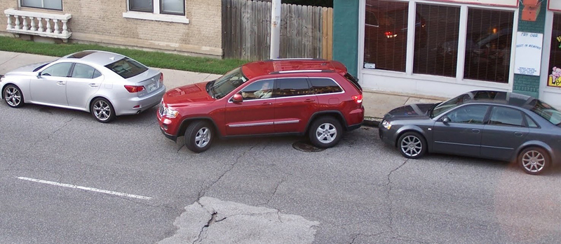 parallel parking manouver